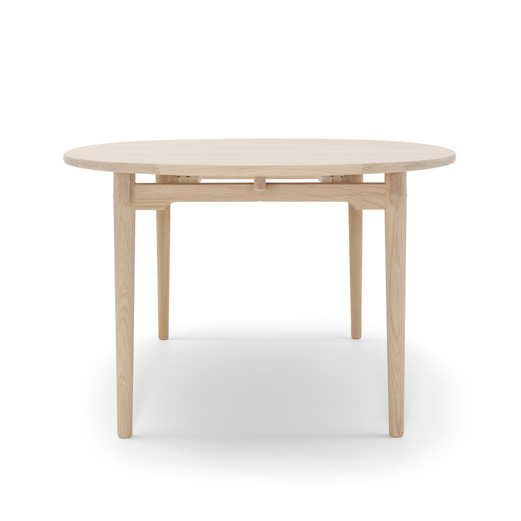 The Elliptical Tabletop And Legs Are Made From Solid Wood. With Its Many  Possible Combinations, This Is An Ideal Table For Everyday Use ...