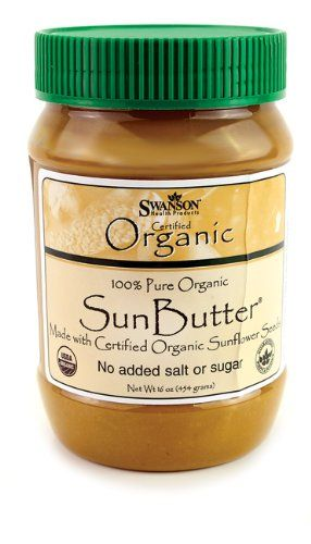 100% Org. Sun Butter (Sunflower Butter) 16 oz (454 grams) Solid Oil:Amazon:Health & Personal Care