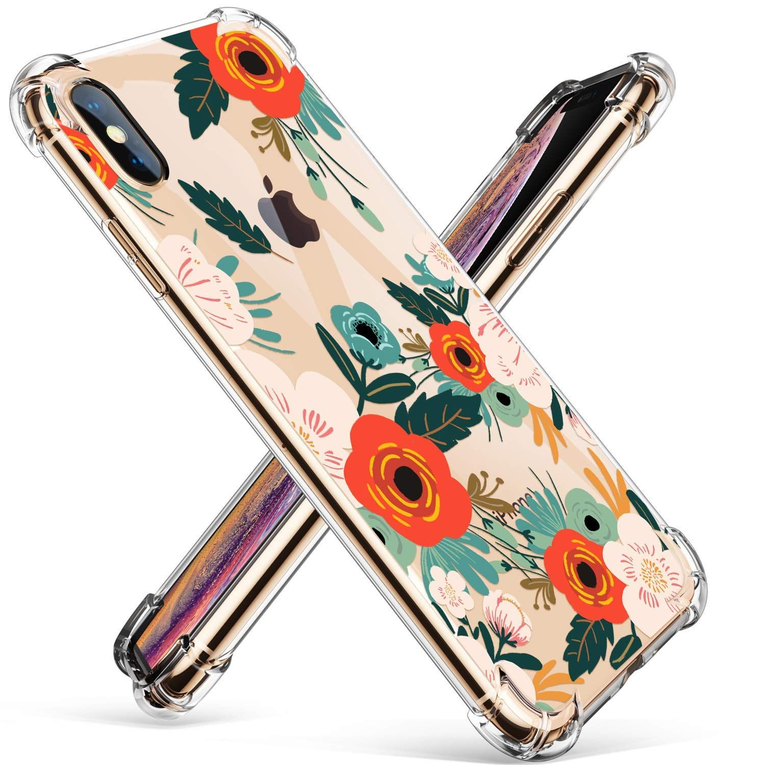 Gviewin compatible for iphone xsx case clear