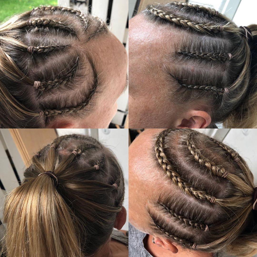 Rough Cornrow Hairstyles