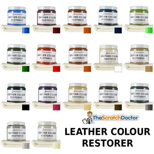 Leather Dye Colour Restorer For Faded And Worn Leather Sofa Chair