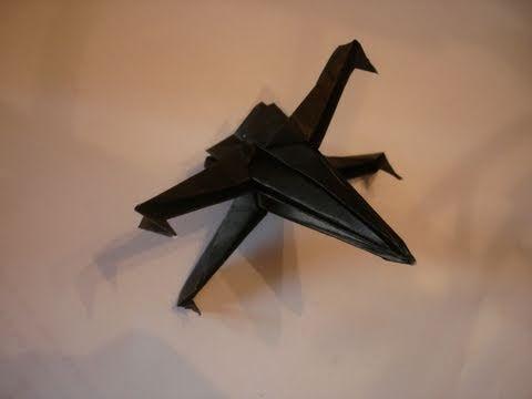 Como hacer una nave de star wars de origami sencilla (X-WING) - YouTube