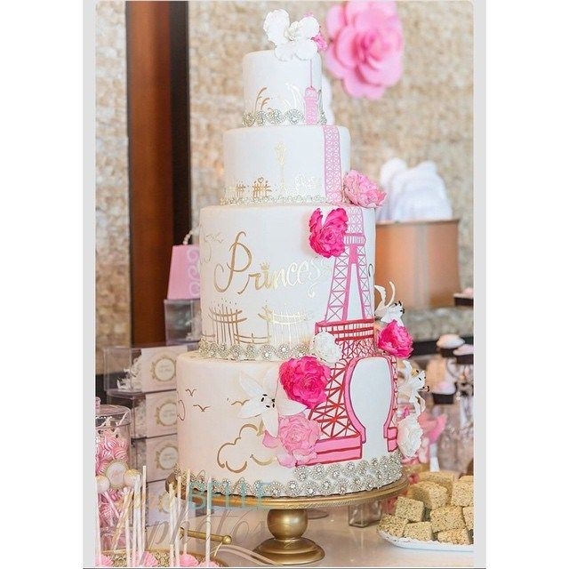 Paris Themed Quince Cakes: Love At First Bite!