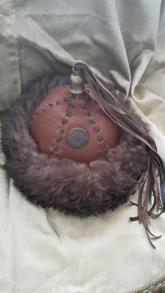 100% echt Super Qualität noch nicht vulgär LARP - Mongolen - Mütze - Gr. 60-62, MOD. 0115 | Mongolei ...