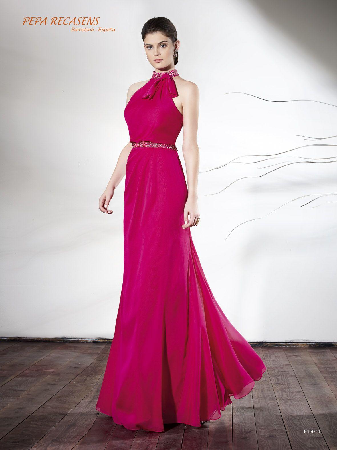 Vestido de fiesta Pepa Recasens modelo F15074