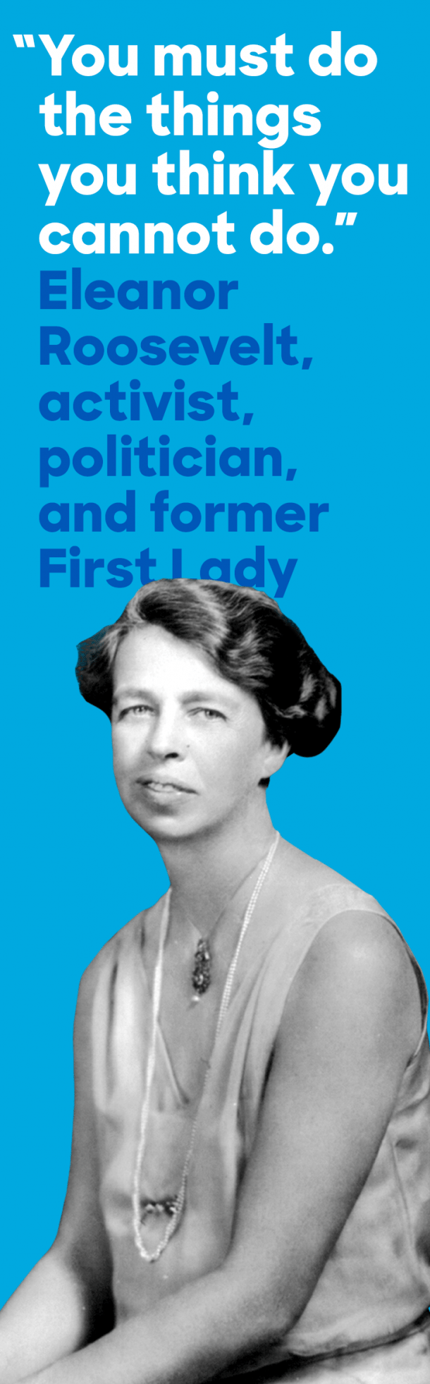 In March 1933 First Lady Eleanor Roosevelt held the first