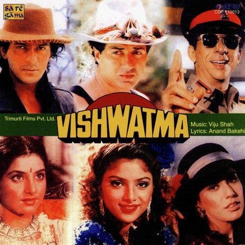 Vishwatma 1991 500x500 Jpg 500 500 Bollywood Posters Indian Movies Bollywood Movie