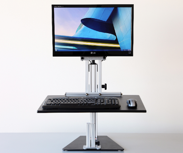 The Best Standing Desks Standing Desk Converter Standing Desk Riser Adjustable Height Desk
