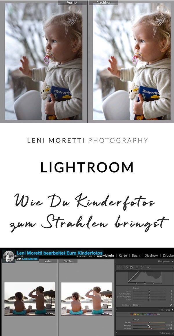 Photo of A family photographer works on your children's photos in Lightroom – Children's Photography & Baby Photography Berlin | Family Photography | Workshop & photography course for beginners