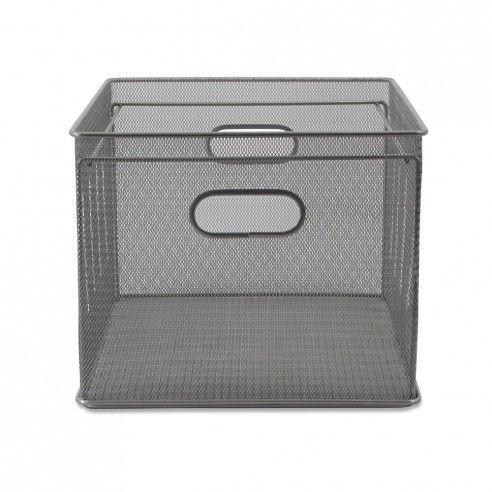 Storables Mesh Letter/Legal File Crates