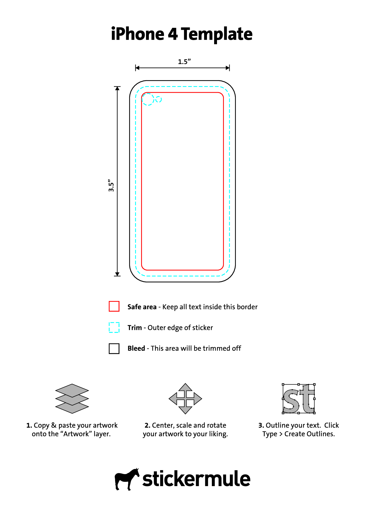 Iphone 4S Skin Template | Iphone 4 Template Make Your Own Skins I Have A Clear Case On My