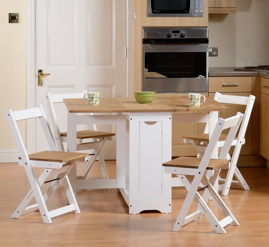 Brilliant Southchase Folding Dining Set With 4 Chairs Apartment Cjindustries Chair Design For Home Cjindustriesco