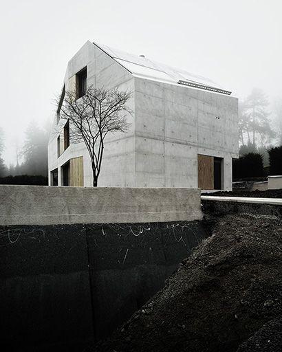 Villa ensemble zurich andreas fuhrimann gabrielle for Modernes haus zurich