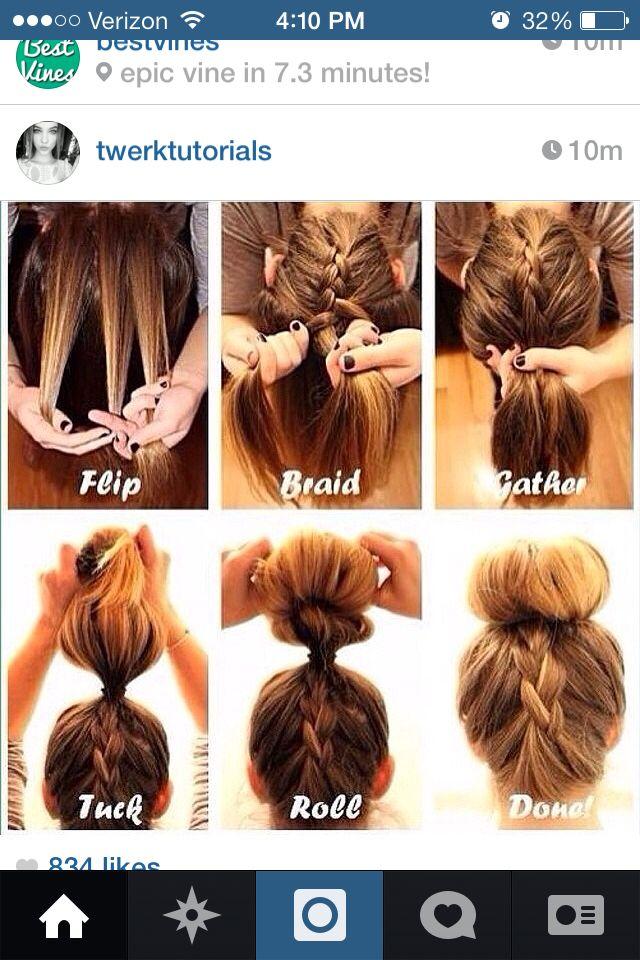 That hair tutorial tho