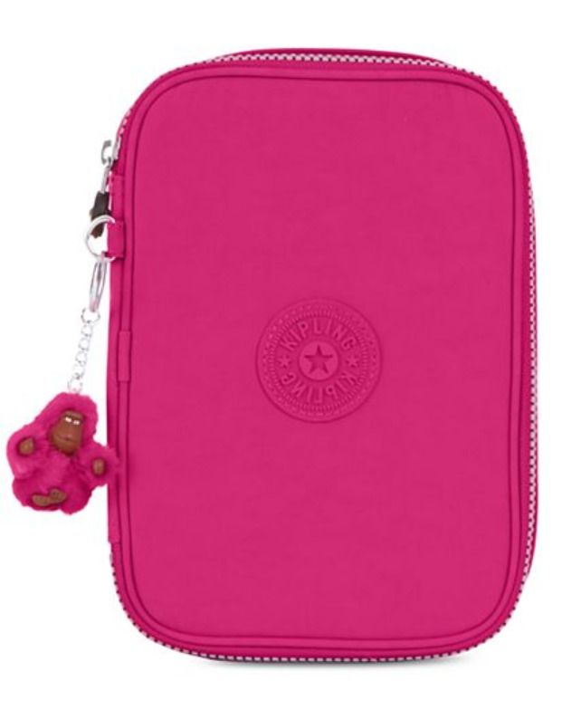 57bb9f2fb Kipling 100 Pens Pencil Case Cosmetic Case Very Berry New with tags #Kipling  #Case