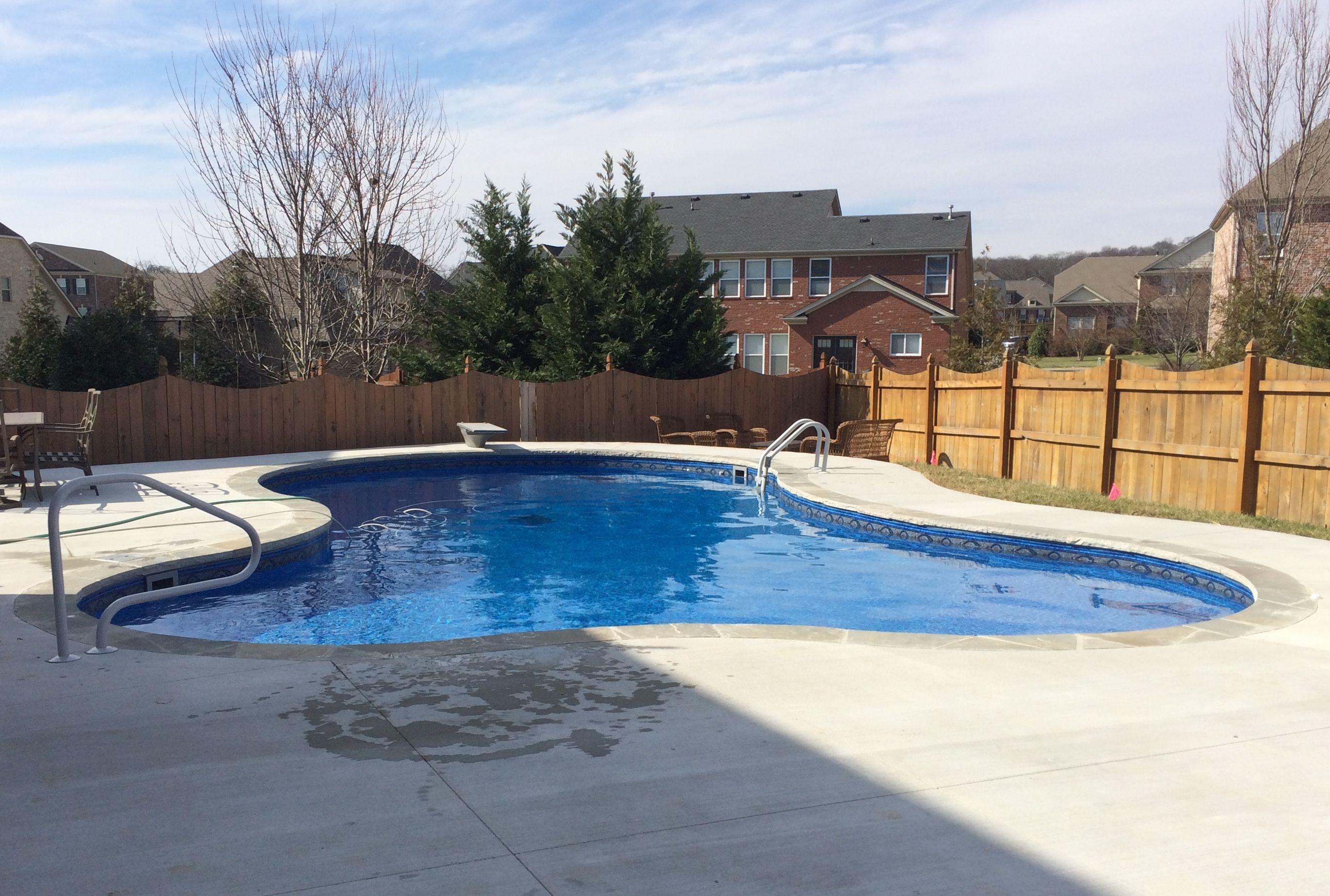 Concrete Wall Pools Nashville Pool Designer Brentwood Bowling