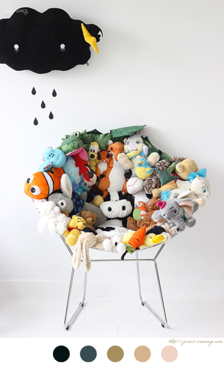 "J'Adore Le ""Do It Yourself"" Fauteuil En Peluches #DIY #Kids #Enfant #Peluches"