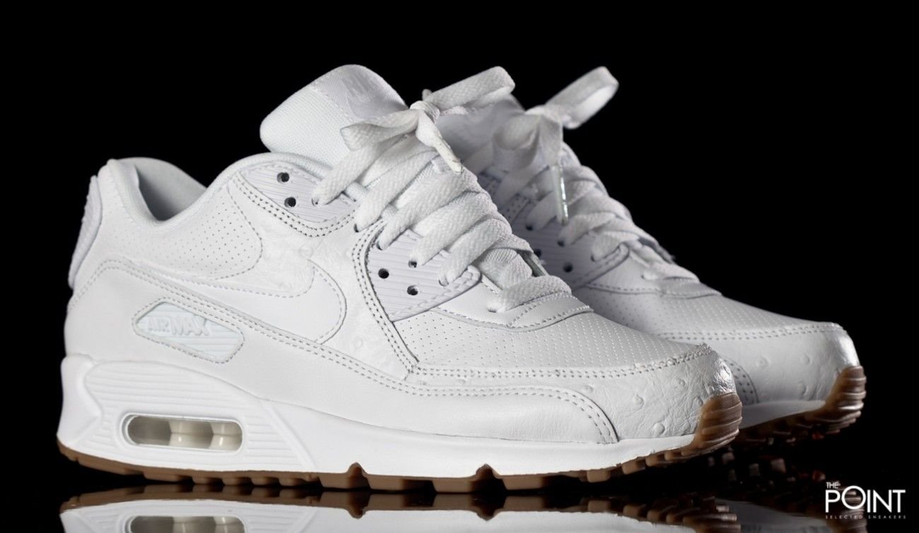 zapatillas nike air max 1 gs blanco total