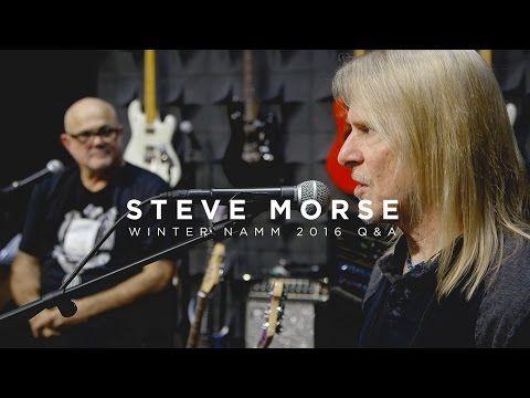 Ernie Ball: Steve Morse Q&A | Live from NAMM 2016 - YouTube