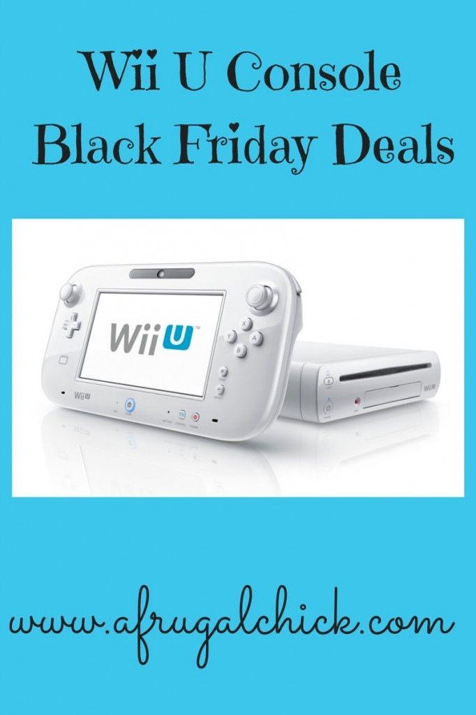 Wii U Console Black Friday Deals Wii U Black Friday Deals Black Friday