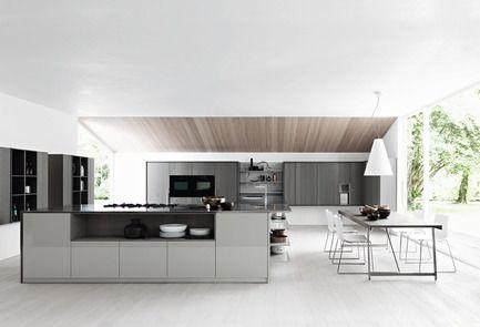 designer kuche kalea cesar arredamenti harmonischen farbtonen, cesar kitchens now have their point of sale in montreal | press kits, Design ideen