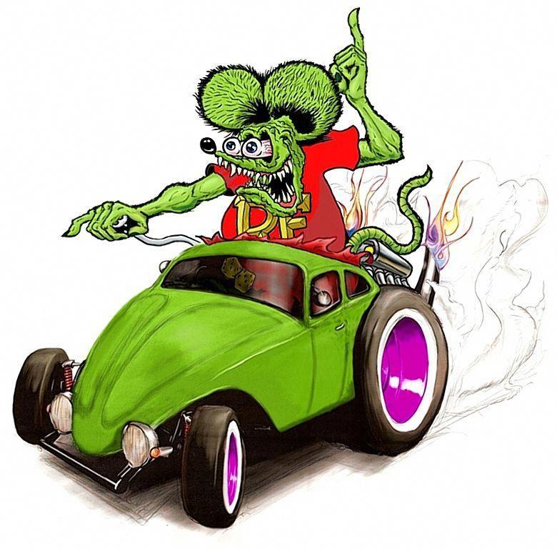 30+ Animated Rat Rod Clipart