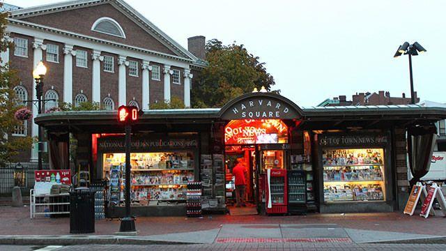 Harvard Square Newsstand