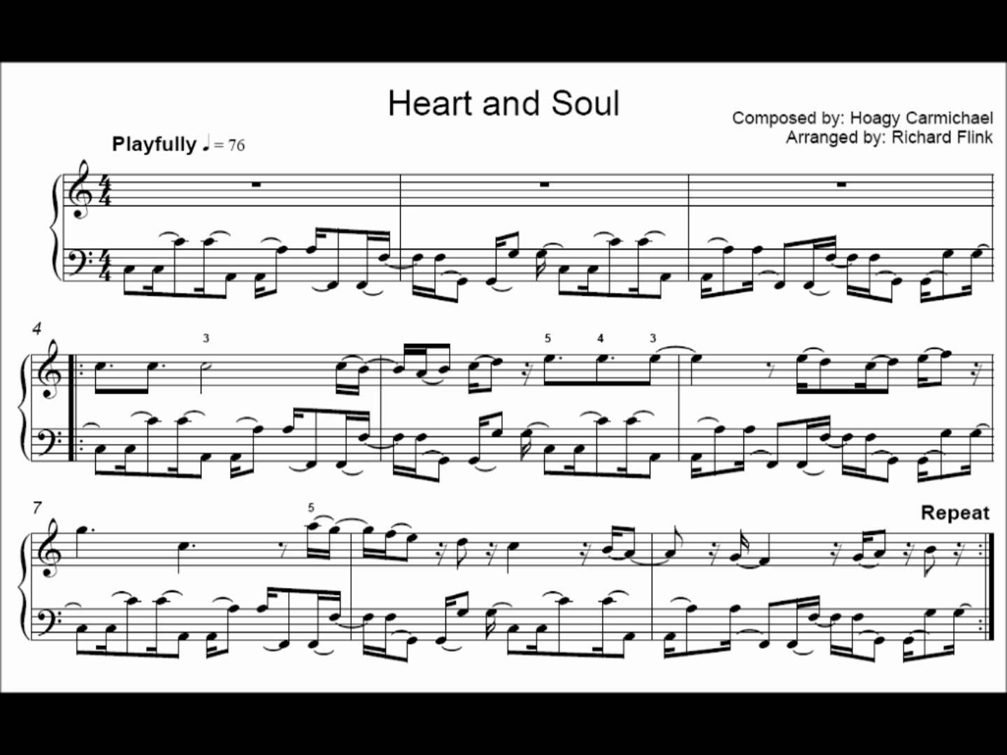 Heart And Soul Xylophone Sheet Music Google Search With Images