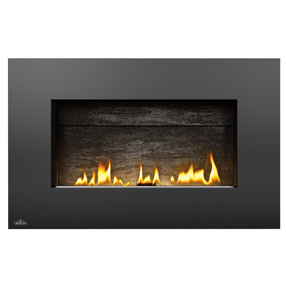 Napoleon Plazmafire Wall Hanging Natural Gas Fireplace Complete