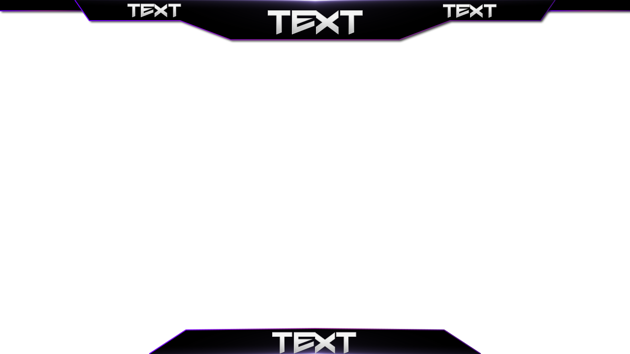 7 Free Simple Minecraft Twitch Overlay Template Examples
