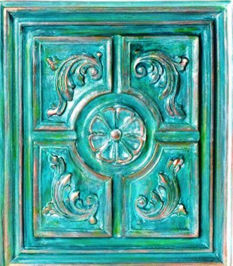Patinas metalizadas Lidia Gonzalez Varela