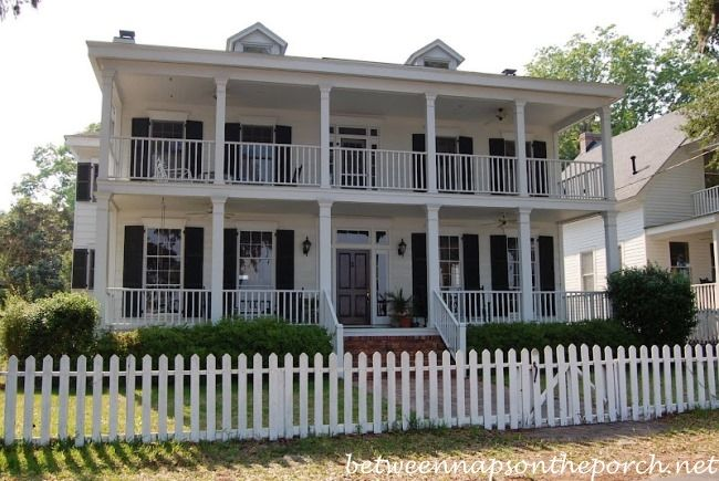 Two Story Porches Build A Porch Way Up High House With Porch Porch House Plans Dream House Exterior