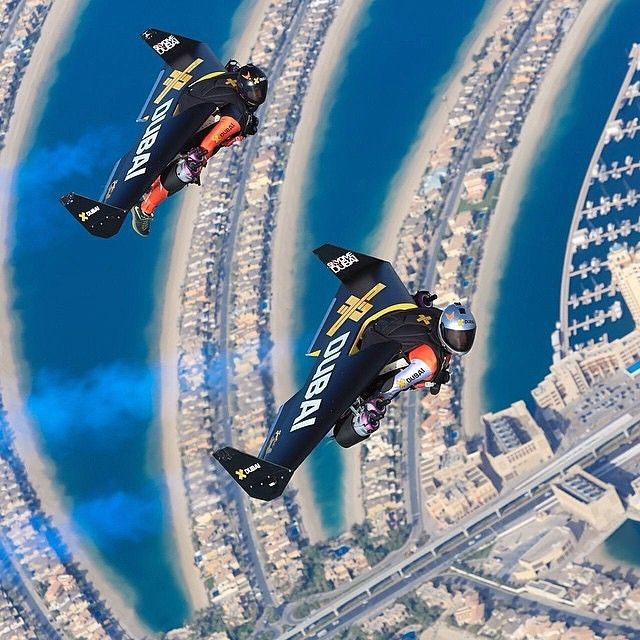 Jetman Exploring The Boundaries Of The Impossible In The City