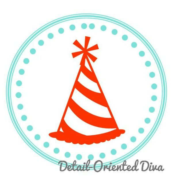 Detail-Oriented Diva!: A Birthday Party for Jesus! {Cupcake Toppers}