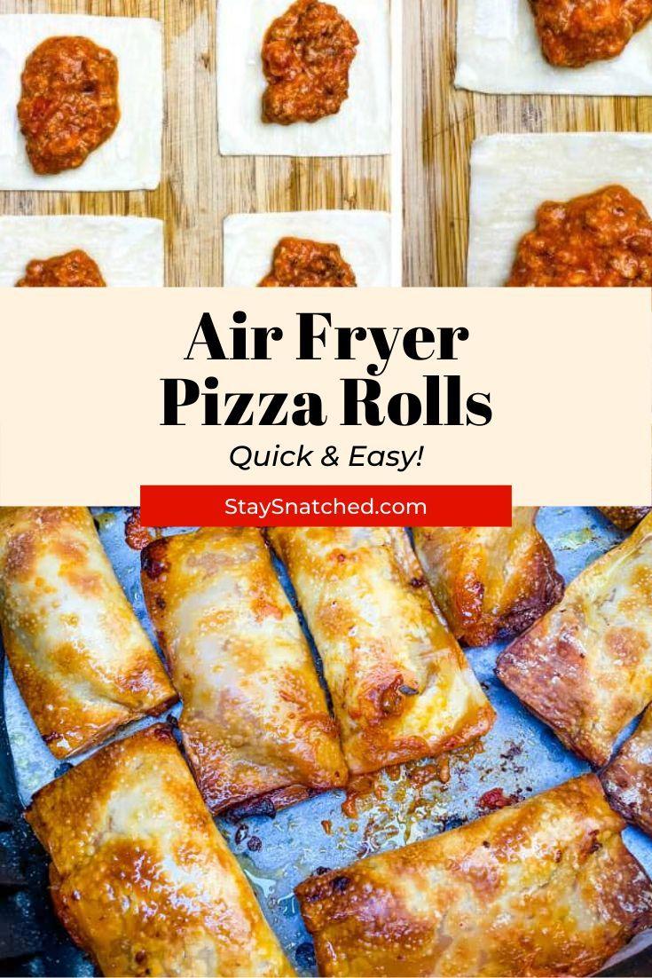 Air fryer pizza rolls pizza rolls air fry recipes