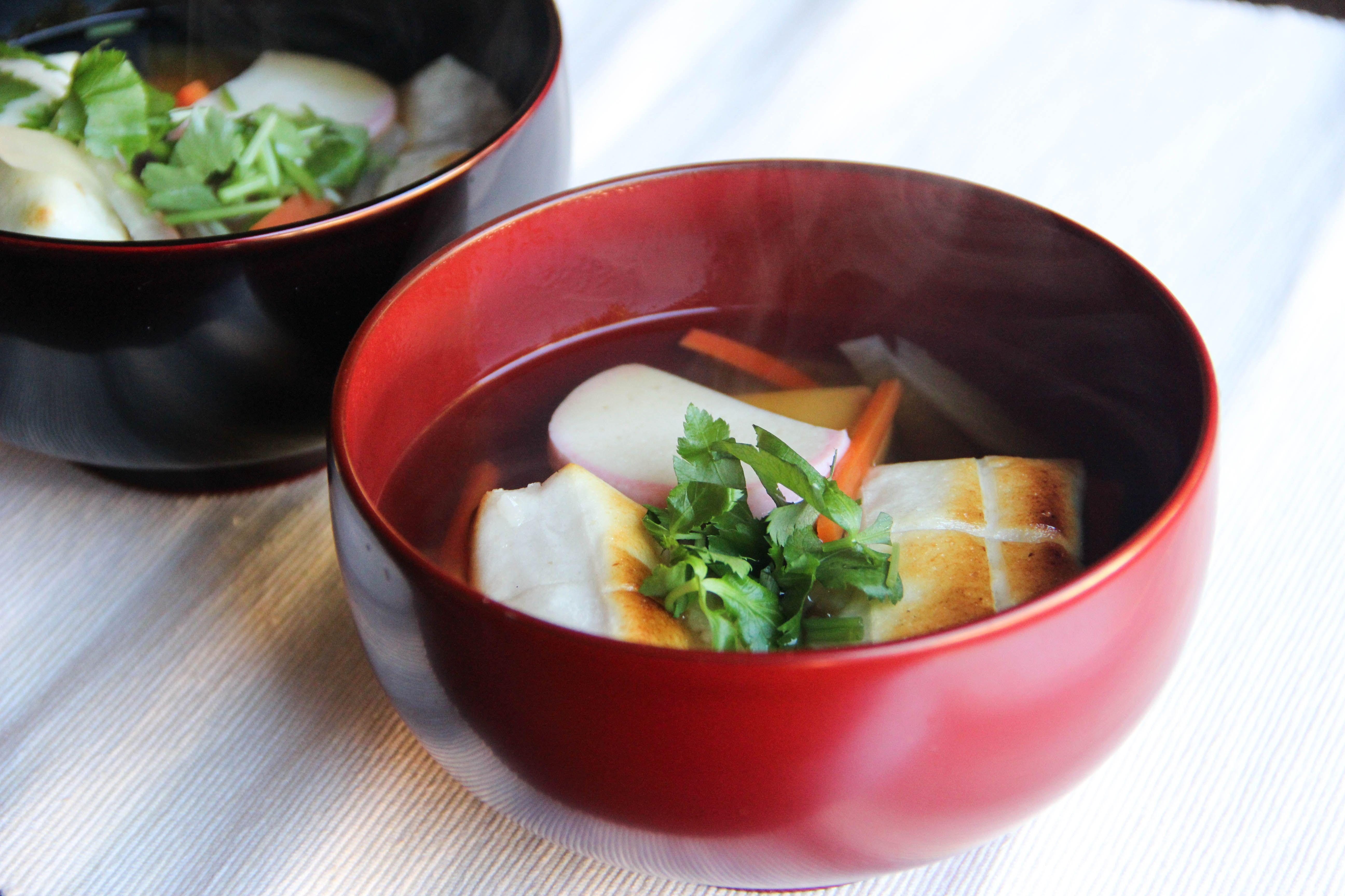 Ozoni (Zouni) Recipe Ozoni soup recipe, Food recipes