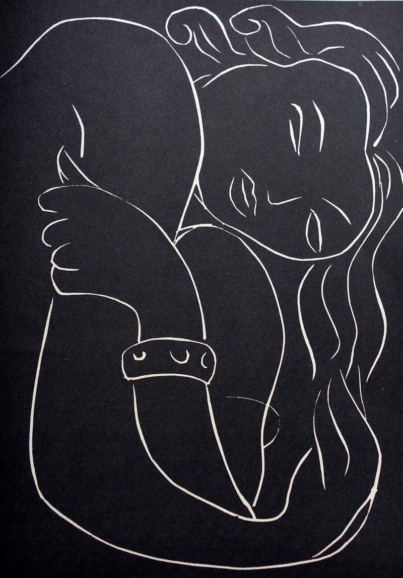 gravure pour pasiphaé de h. de monterlant Henri Matisse