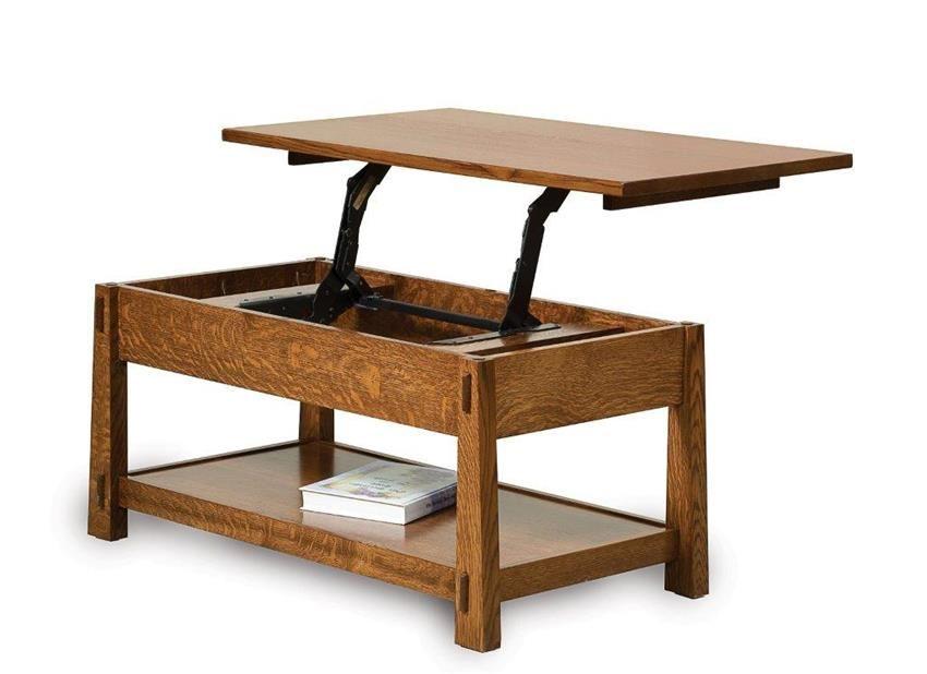 Amish Modesto Lift Top Coffee Table Coffee Table Plans Table Lift Top Coffee Table
