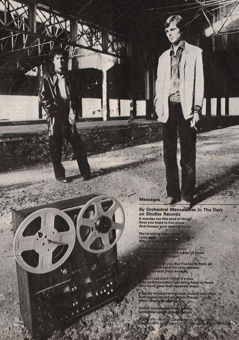 ORCHESTRAL MANOEUVRES IN THE DARK, Enola Gay, 1980