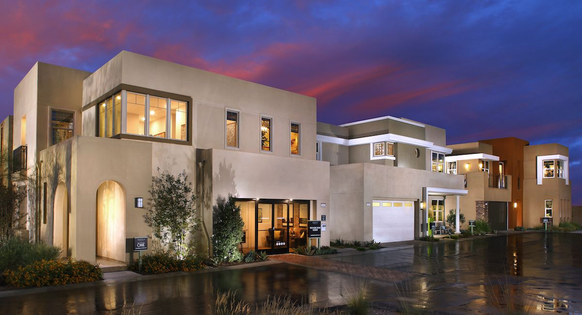 On a scale from 1-10, how would you rate these new homes? #newhomes #realestate #sunset #orangecounty #irvine