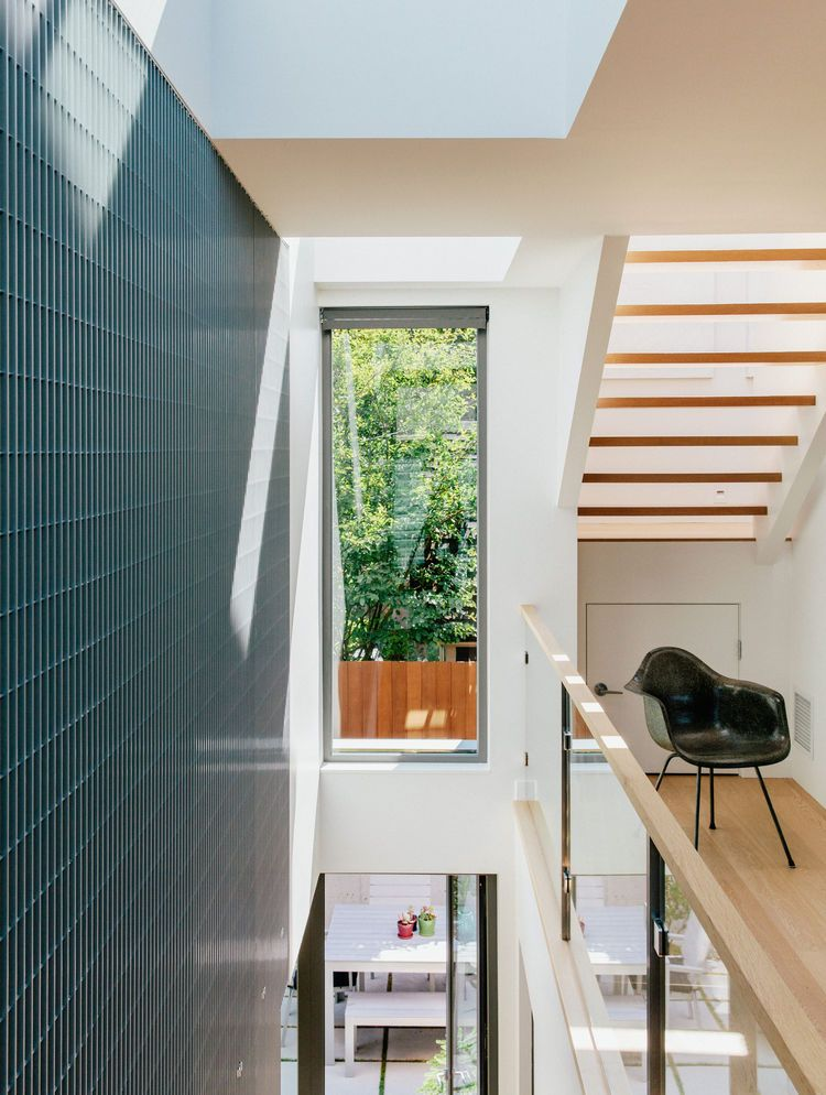 The laneway house features Kentwood engineered-wood floors ... on Cascadia Outdoor Living Spaces id=94124