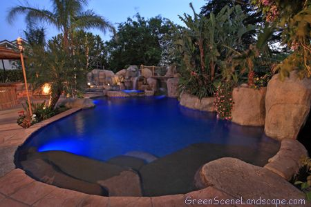 Lagoon Swimming Pool Designs lagoon style pool Lagoon Pools Pictures The Green Scene New Construction Swimming Pools And Spas