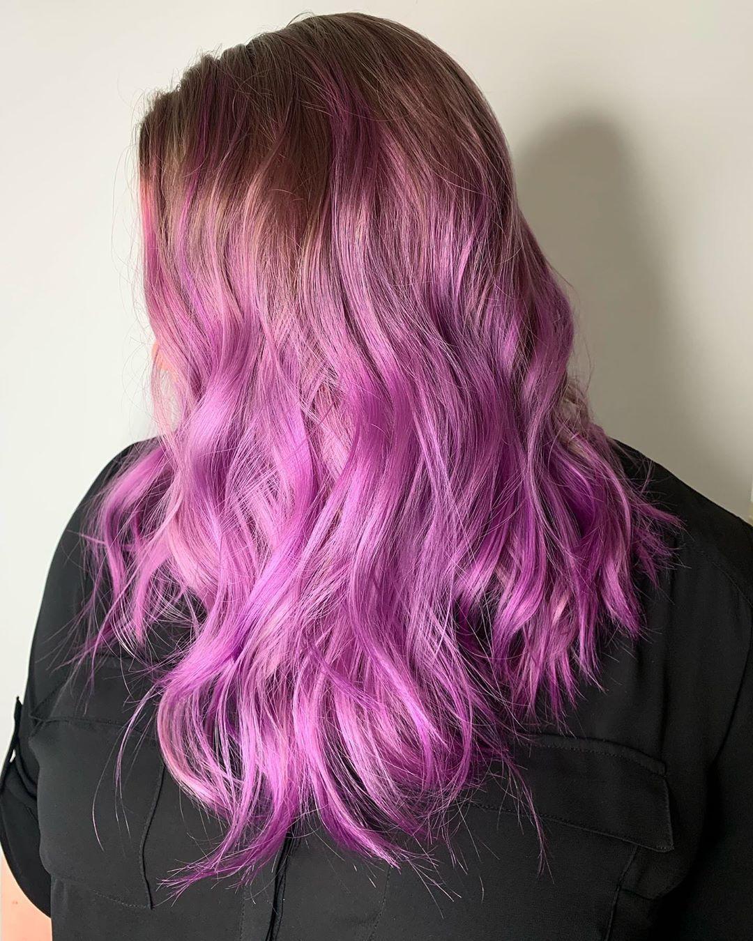 Arctic Fox Purple Rain And Violet Dream Purple Hair Hair Clothes Hair Inspiration