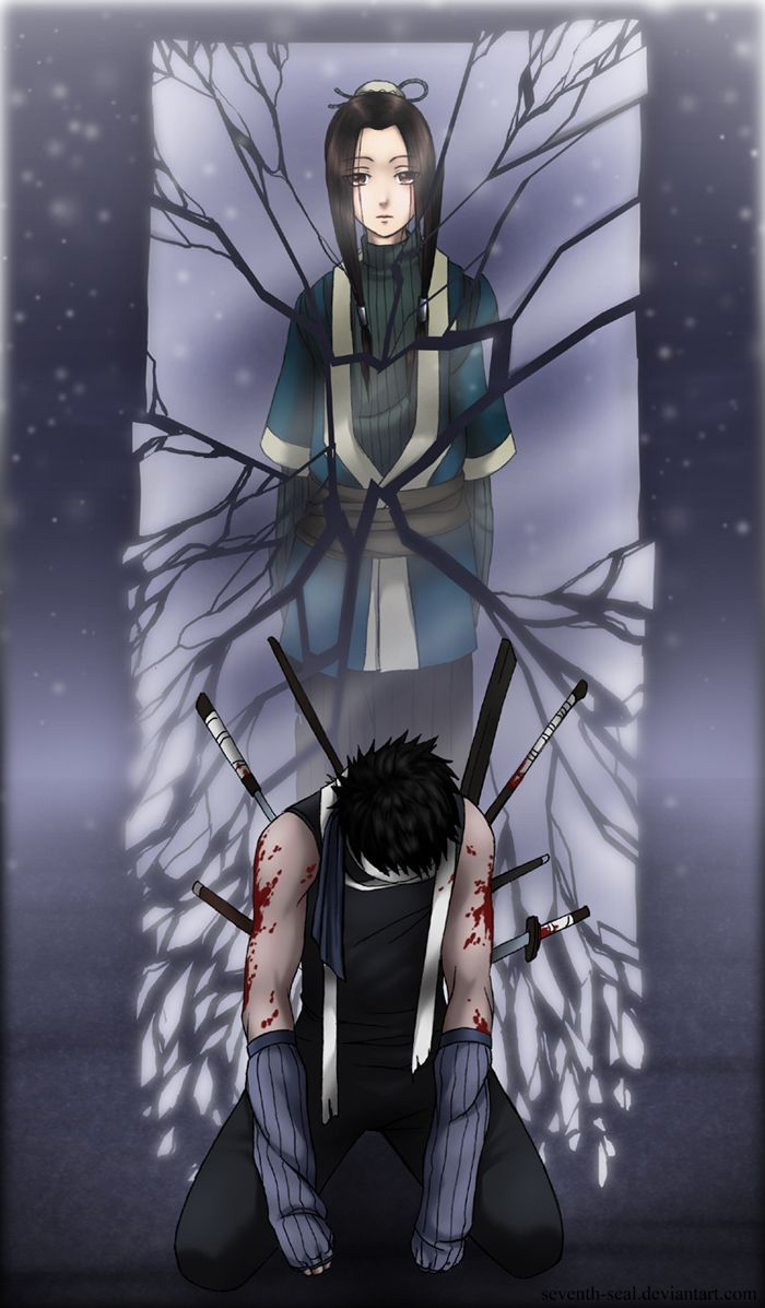 Zabuza And Haku They Died Good Deaths Still I M Going To Be Sitting In A Corner Crying My Naruto Shippuden Anime Naruto Shippuden Sasuke Anime Naruto