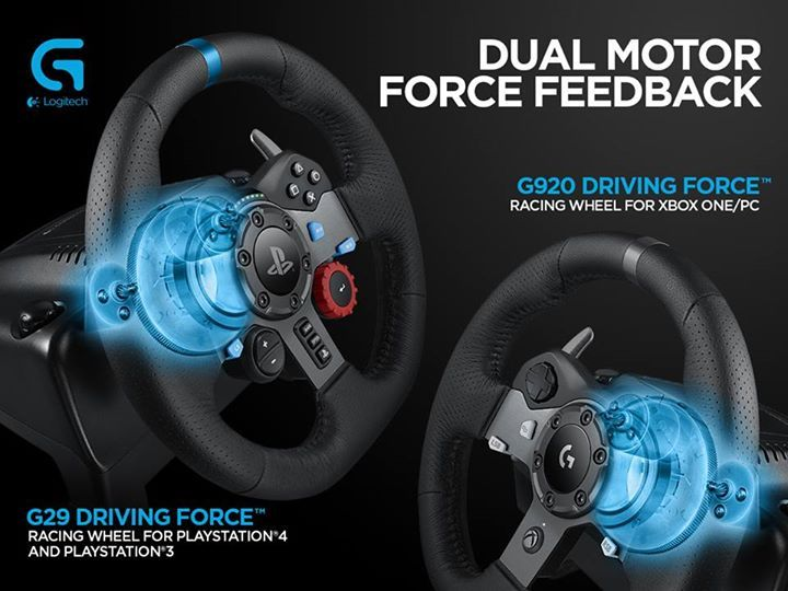 The Wait Is Over The Logitech G29 Driving Force Racing Wheel For
