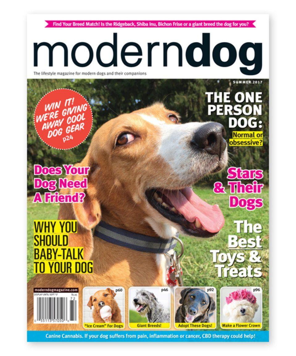 Take A Look At This Modern Dog Magazine Subscription Today Dog Magazine Modern Dog Magazine Modern Dog