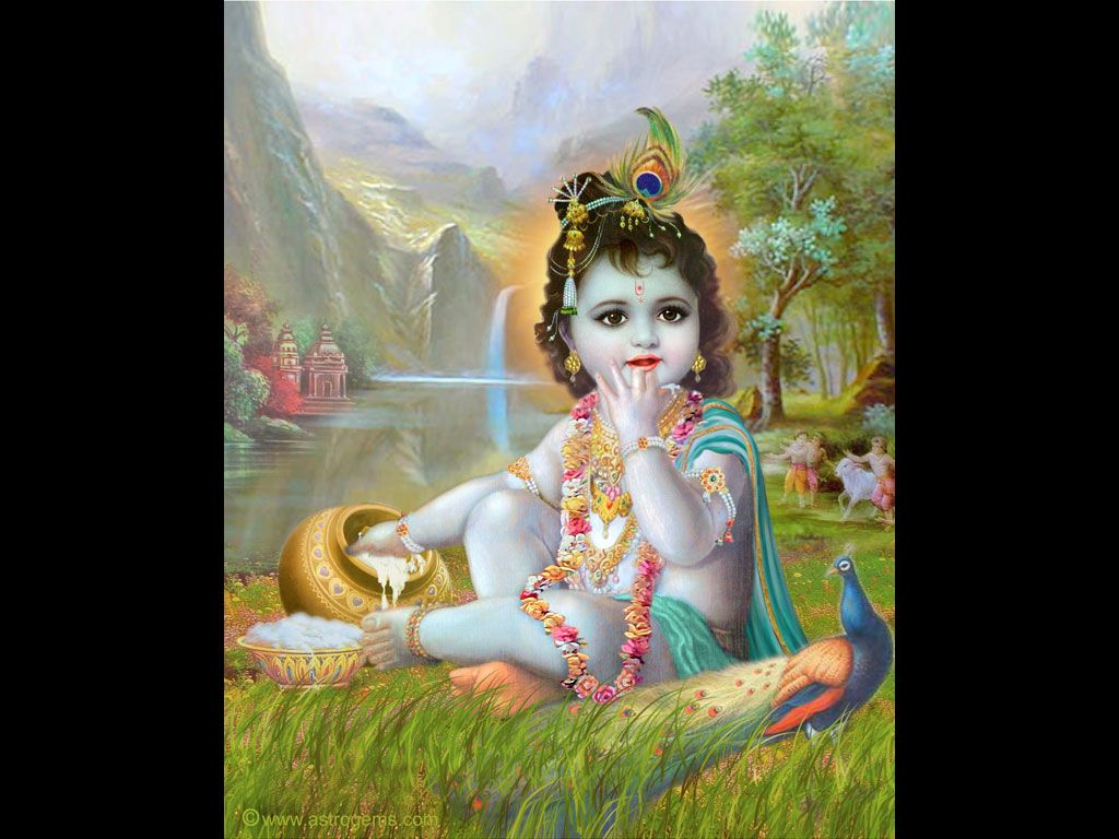 Baby Krishna Is Just Too Damn Cute.