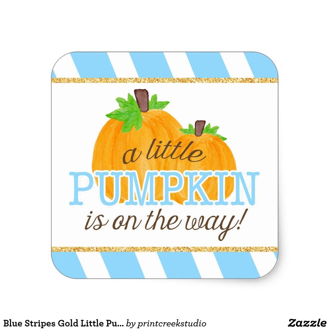 Watercolor Pumpkin Baby Shower Sign Blue Pumpkin Gender Reveal B854 Pumpkin It/'s A Boy Banner Fall Baby Shower Decor Baby Shower