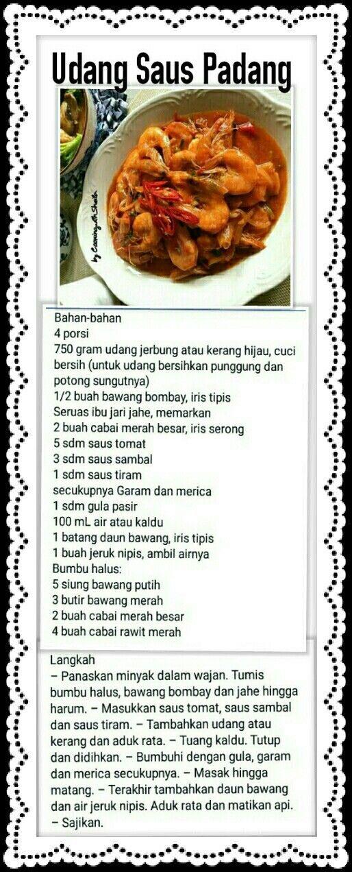 Saus Padang Resep Masakan Resep Makanan Sehat Makanan Dan Minuman