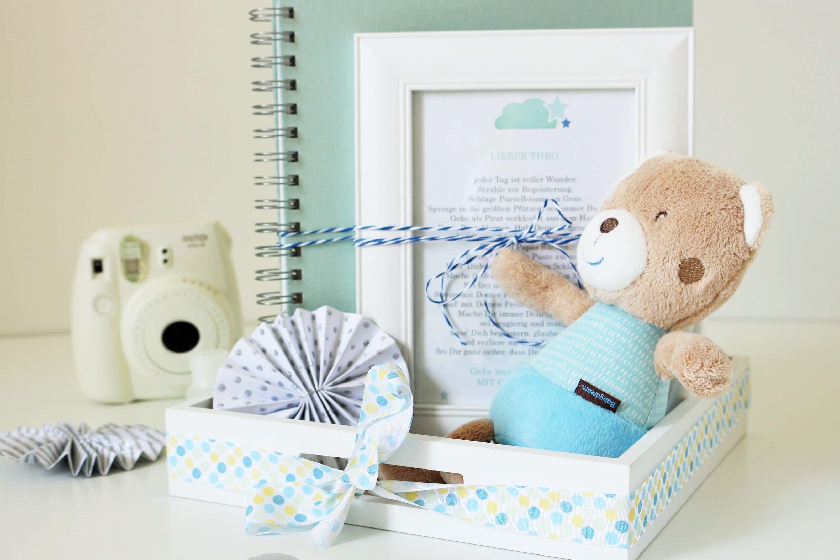 DIY Geschenk Idee zur Taufe für Jungen & Mädchen   Ideen zur